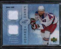 2007-08 UD Ice Fresh Threads Parallel Brandon Dubinsky Jersey #/100 (ref 1321)