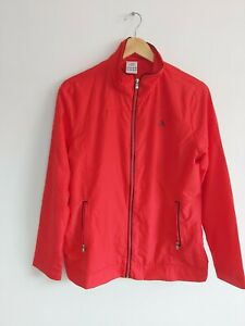 ADIDAS Ladies Size 14 (small fit more like a 12) Lightweight Jacket Dark PinkRed