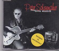 Peter Schoemaker-Even Geen Muziek cd maxi single