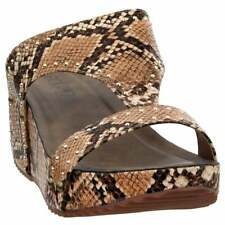Corkys Funkytime  Casual   Wedges - Brown - Womens