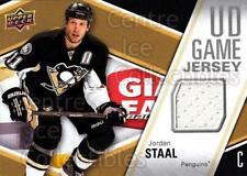 2011-12 Upper Deck Jersey Series One #GJSJ Jordan Staal