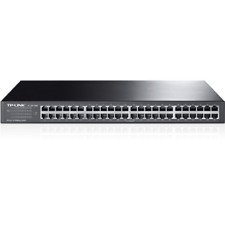TP-LINK TL-SF1048 48x Port Switch Unmanaged 19-Zoll-Stahlgehäuse