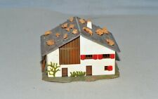 N Scale Faller 43D House with Rocks on Roof #5