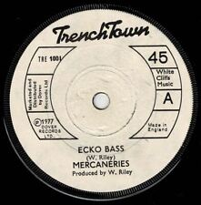 "MERCENARIES-ecko bass     trench town 7""    (hear)    reggae dub"