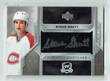 06-07 UD The Cup Scripted Swatches  Steve Shutt  /25  Auto  Patch  HOF