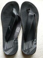 Nike Black Flip Flops. Size 9