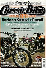 Norton  Suzuki  Ducati  BSA Gold Star  MV Agusta  Velocette  5/2011 Classic Bike