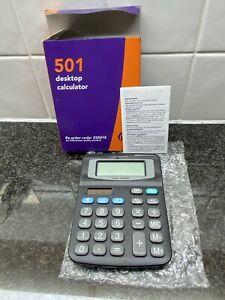 Small desktop calculator for home, school, office auto shut off, 8 digit display