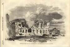 1855 rimane dell'ospedale in Sebastopol