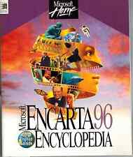 Microsoft Encarta 96 Instruction Manual