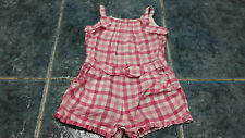 Baby girl sleeveless guingham print playsuit size 3-6 mths by Mayoral