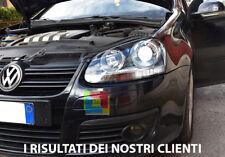 VW GOLF 5 MK5 V 2003-2008 FARI ANTERIORI LOOK GTI FANALI CON POSIZIONE LED .-