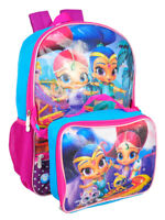 Shimmer and Shine Backpack with Insulated Lunchbox