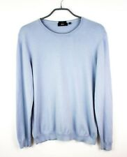 HUGO BOSS Men Jumper Genter-3 Slim Fit Cotton Pullover Cardigan Size M FZ400