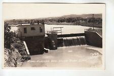 Rosebud Real Photo Postcard Hydro Electric Dam White River  SD