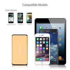 10000mAh Ultra Slim External Battery Portable Charger Power Bank for Cell Phones