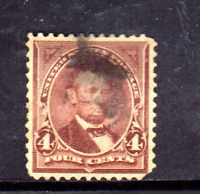 #280  4 CENT LINCOLN        FANCY CANCEL   USED     a