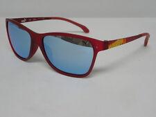 Puma PU 15184 RE Red Blue Silver Mirror Square Sunglasses PU15184