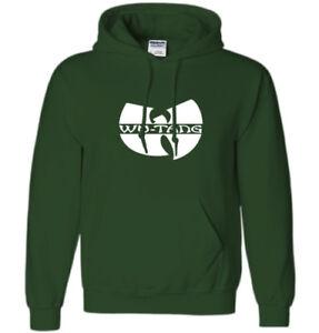 WU TANG Clan Hoodie Sweatshirt Logo YMCMB Drake Rapper Rap Retro Hip Hop Sweater