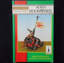 1993 skaven doomwheel chaos ratmen citadel warhammer machine de guerre char mib gw