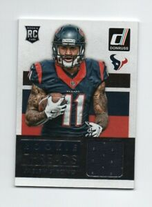 ARIZONA STATE SUN DEVILS HOUSTON TEXANS JAELEN STRONG DONRUSS ROOKIE THREADS