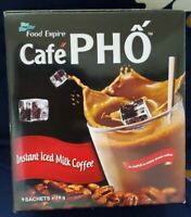 Cafe Pho Viet Milky Iced coffee instant coffee & Creamer drink mix - 9 Sachets /
