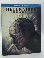 Hellraiser: Judgment (Blu-ray+Digital, 2018) NEW w/ Slipcover