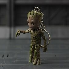 Guardians Of The Galaxy 7.5cm Groot Keychain Finger Version