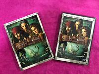 PIRATAS DEL CARIBE  EDICION ESPECIAL 2 DVD EL COFRE DEL HOMBRE MUERTO WALT DISNE