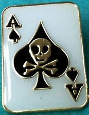 ACE OF SPADES ENAMEL  PIN BADGE BUY 2 GET 3 of these