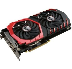 4GB FOUR MSI Radeon RX 580 4gb Gddr5 Gaming X - Perfect Working Condition