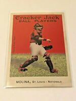 2004 Topps Cracker Jack Baseball Rookie - Yadier Molina RC - St. Louis Cardinals