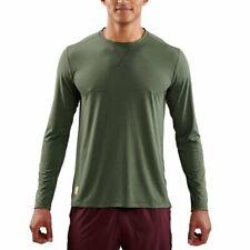 Skins Avatar Men Long Sleeve Compression Tights Under Base Layer Fitness Gym MED