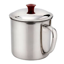 Durable 400ML Stainless Steel Camping Mug Traveling Water Drinking Cup Household