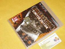 BULLETSTORM LIMITED EDITION Playstation 3 PS3 NUOVO SIGILLATO ver UFF. ITALIANA