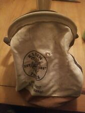 Used Klein Canvas Bag Load Limit 150 Lbs