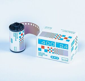 2 Rolls - NINM Lab NINMLab 400 ISO 24exp 35mm 135 Color Negative Film