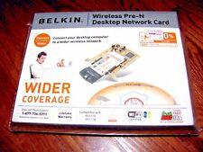 Belkin F5D8000 Pre-N Desktop Network 802.11g/b Wireless Adapter ]NEW + Fast Ship