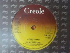 """RUBY WINTERS COME TO ME! / TREAT ME RIGHT 1978 SOUL 7"""" VINYL"""