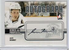 2009-10 ITG HEROES AND PROSPECT AUTO ALEX BOURRET