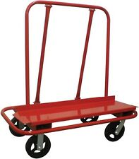 Heavy Duty Commercial Grade Drywall Cart - Swivel casters - 3000 lbs Capacity