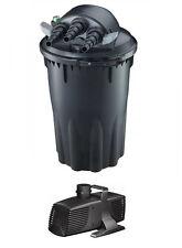 7500 Pond Filter W/ UV Sterilizer BACKWASH 24w  BIO NEW + 4200 GPH Pump COMBO