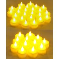 Flameless LED Tealight  Candles Tea Light Candle 72pcs Battery Operated LCL72