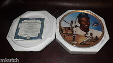Limited Edition-1998 Jackie Robinson:Breaking Barriers Bradford Exchange Plate