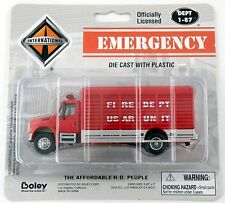 HO Scale International US AR Unit Fire Dept. Rescue Truck - Boley #4136-11 *NIP*