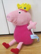 "PEPPA PIG FAIRY PRINCESS PLUSH 6-8"" SOFT TOY FIGURE"