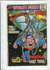 WORLD'S FINEST COMICS #208 (6.5) PERIL OF THE PLANET-SMASHERS!