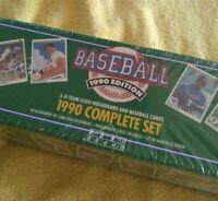 1990 Upper Deck Baseball TEAM SETS Complete High #'s Traded MINT $6.99 Each