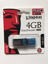 NEW Kingston Data Traveler 101 - 4 GB Flash Drive USB 2.0