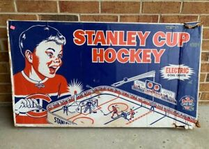 EAGLE TOYS NHL STANLEY CUP TABLE HOCKEY GAME BOX #550 / 551COLECO